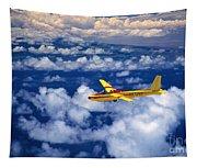 Yellow Glider Tapestry