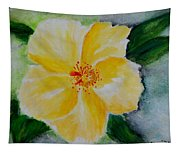 Yellow Hibiscus Tapestry