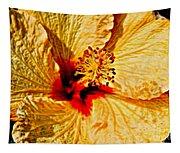 Yellow Hibiscus Tapestry