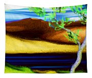 Yellow Hills Revisited Tapestry