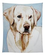 Yellow Lab Tapestry