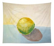 Yellow Lemon Still Life Tapestry