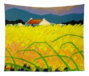 yellow Meadow Ireland Tapestry