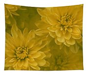 Yellow Mums Tapestry