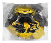 Yellow Poison Dart Frog No 04 Tapestry
