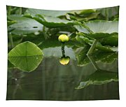 Yellow Pond Lily Tapestry