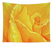 Yellow Rose Detail Tapestry
