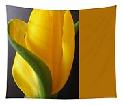 Yellow Rose Art Tapestry