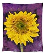 Yellow Sunflower Tapestry