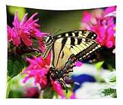 Yellow Swallowtail     Tapestry
