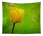 Yellow Tulip Tapestry