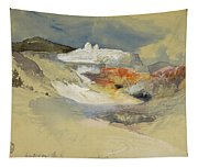 Yellowstone, Hot Springs, July 21, 1892 Tapestry