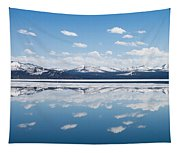 Yellowstone Lake Reflection Tapestry