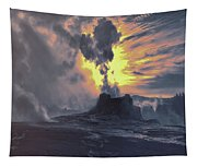 Yellowstone National Park Tapestry