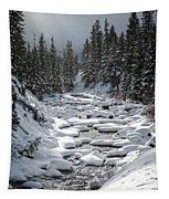 Yellowstone -  Soda Butte Creek Tapestry