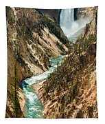 Yellowstone Waterfalls Tapestry