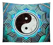 Yin Yang -  The Healing Of The Blue Chakra Tapestry