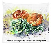 Yorkshire Puddings With Yorkshire Salad Garnish Tapestry