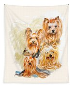 Yorkshire Terrier W/ghost Tapestry