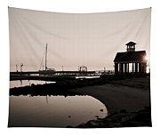 Yorktown Marina Morning Tapestry