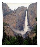 Yosemite Falls Vertical Tapestry
