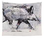 Young Boar Tapestry