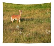 Young Deer Tapestry