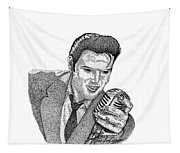 Young Elvis Tapestry
