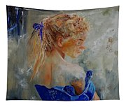 Young Girl  78 Tapestry