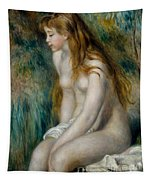Young Girl Bathing, 1892 Tapestry
