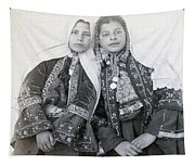 Young Girls Of Bethlehem Year 1896 Tapestry