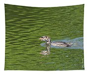 Young Grebe Tapestry