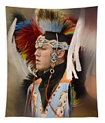 Pow Wow Young Man Tapestry