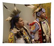 Pow Wow Young Men Tapestry