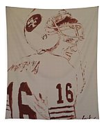 Young Nfl Montana Tapestry