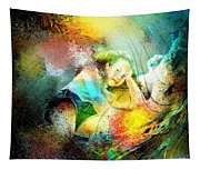 Young Seduction Tapestry