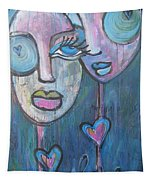 Your Haunted Heart And Me Tapestry