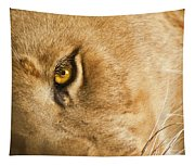 Your Lion Eye Tapestry