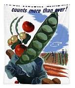 Your Victory Garden Counts More Than Ever Tapestry