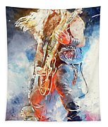 Zakk Wylde - Watercolor 09 Tapestry