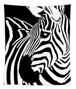 Zebra Works Tapestry