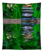 Zen Art And Reflections By Kaye Menner Tapestry