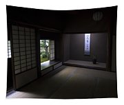 Zen Tea Room Of Koto-in Temple -- Kyoto Japan Tapestry