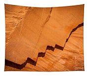 Zigzag Sandstone Tapestry