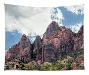 Zion Canyon Terrain Tapestry