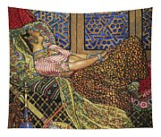 Zira In Captivity Tapestry