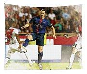 Zlatan Ibrahimovic In Action  Tapestry