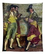 Zuloaga: Bullfighters Tapestry