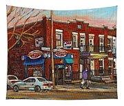 Zytynsky's Deli Rosemont Montreal Tapestry
