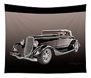 1934 Ford Roadster Tapestry